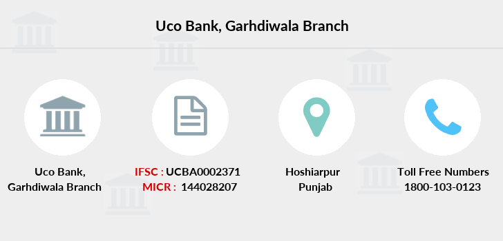 Uco-bank Garhdiwala branch