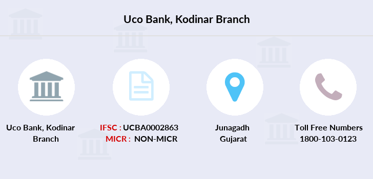 Uco-bank Kodinar branch