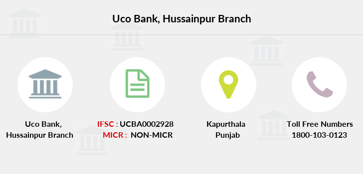 Uco-bank Hussainpur branch
