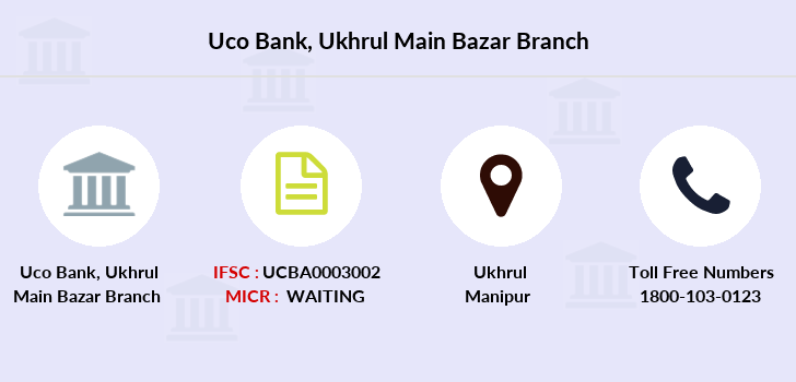 Uco-bank Ukhrul-main-bazar branch