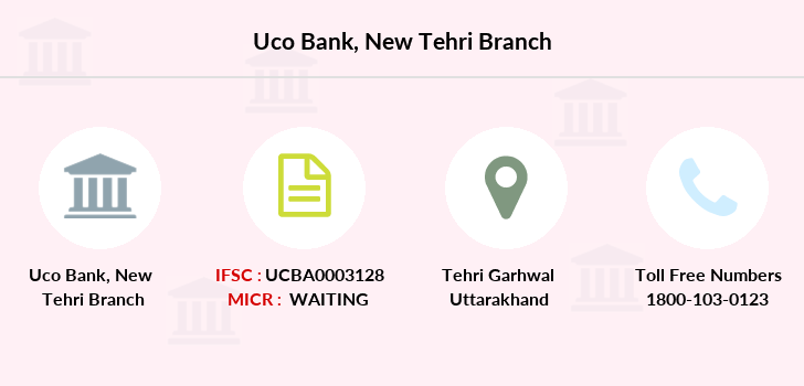 Uco-bank New-tehri branch
