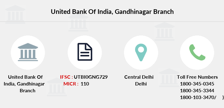 United-bank-of-india Gandhinagar branch
