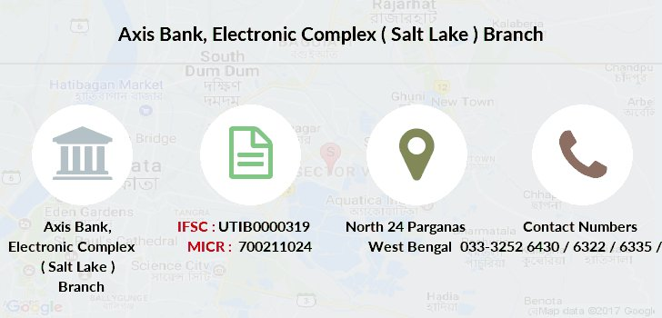 Axis-bank Electronic-complex-salt-lake branch