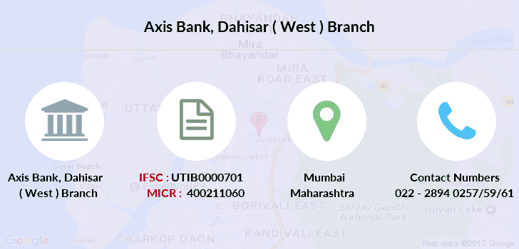 Axis-bank Dahisar-west branch