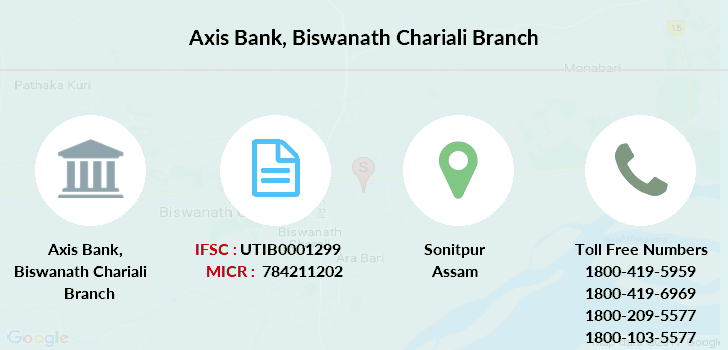 Axis-bank Biswanath-chariali branch