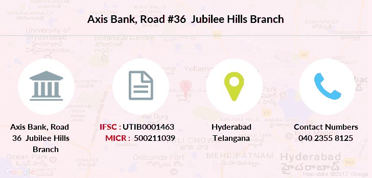 Axis-bank Road-36-jubilee-hills branch