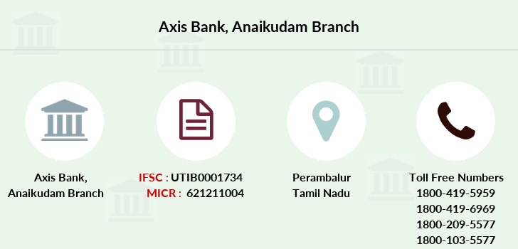 Axis-bank Anaikudam branch