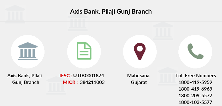 Axis-bank Pilaji-gunj branch