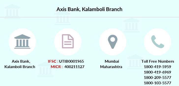 Axis-bank Kalamboli branch
