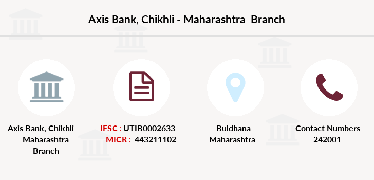 Axis-bank Chikhli-maharashtra branch
