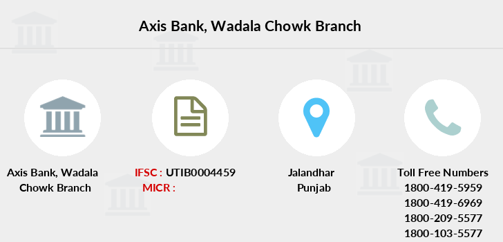 Axis-bank Wadala-chowk branch