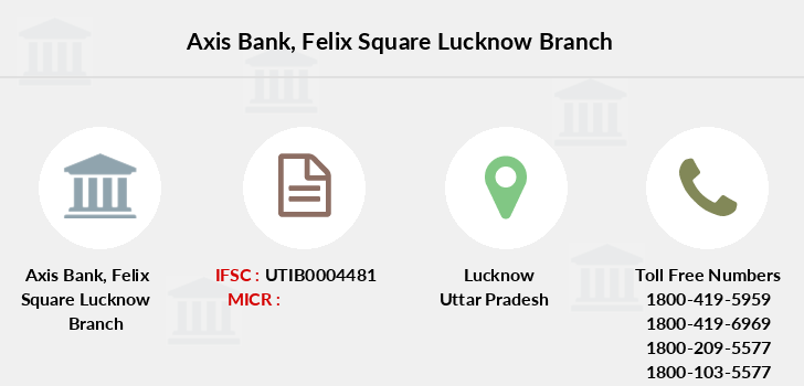 Axis-bank Felix-square-lucknow branch