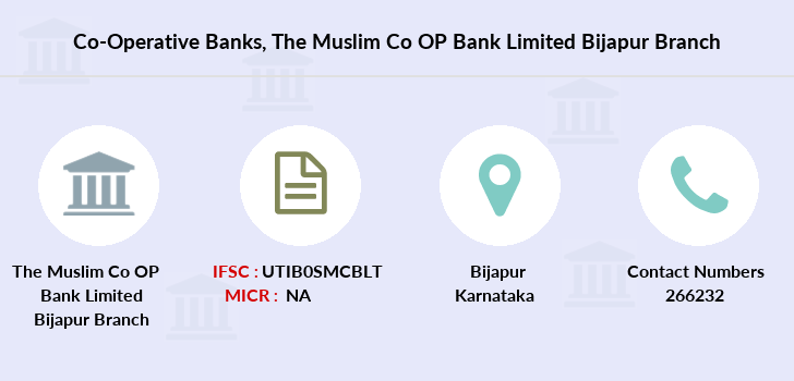 Co-operative-banks The-muslim-co-op-bank-limited-bijapur branch