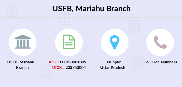 Utkarsh-small-finance-bank Mariahu branch