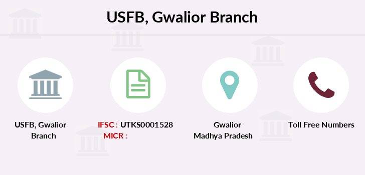 Utkarsh-small-finance-bank Gwalior branch