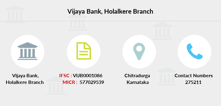 Vijaya-bank Holalkere branch