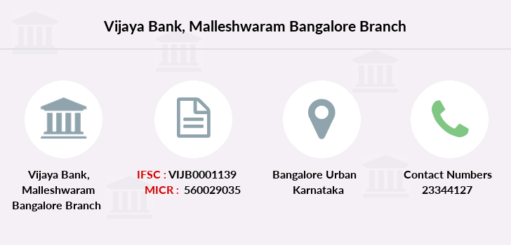 Vijaya-bank Malleshwaram-bangalore branch
