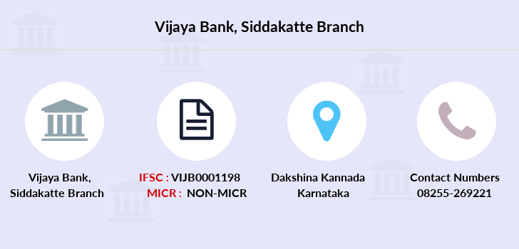 Vijaya-bank Siddakatte branch