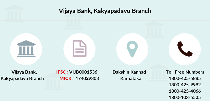 Vijaya-bank Kakyapadavu branch