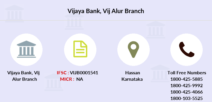 Vijaya-bank Vij-alur branch
