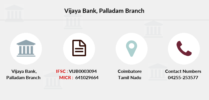 Vijaya-bank Palladam branch