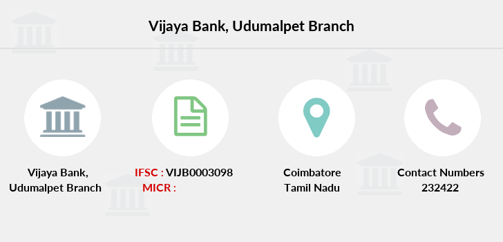 Vijaya-bank Udumalpet branch