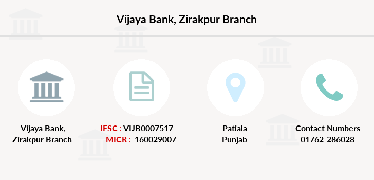 Vijaya-bank Zirakpur branch