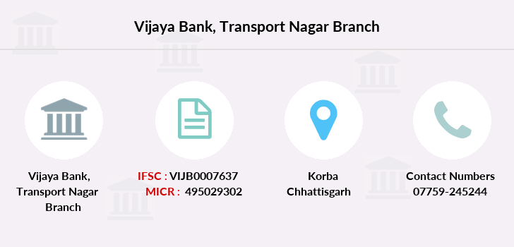 Vijaya-bank Transport-nagar branch