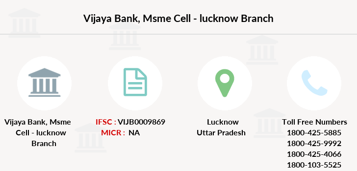 Vijaya-bank Msme-cell-lucknow branch