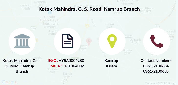 Kotak-mahindra-bank G-s-road-kamrup branch