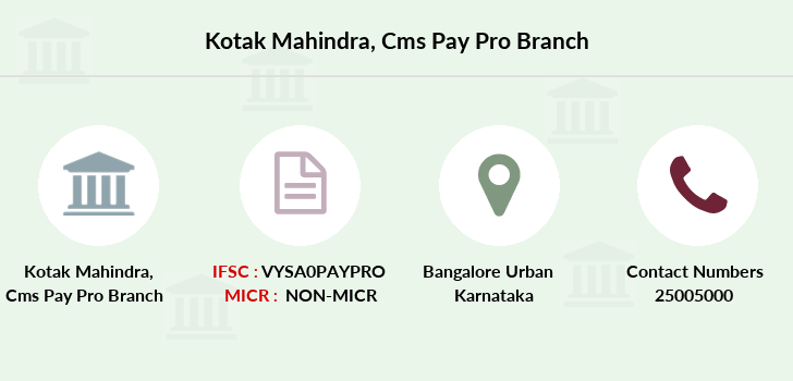 Kotak-mahindra-bank Cms-pay-pro branch
