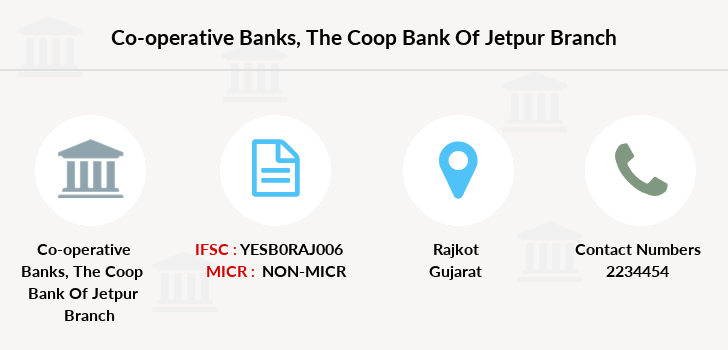 Co-operative-banks The-coop-bank-of-rajkot-jetpur branch