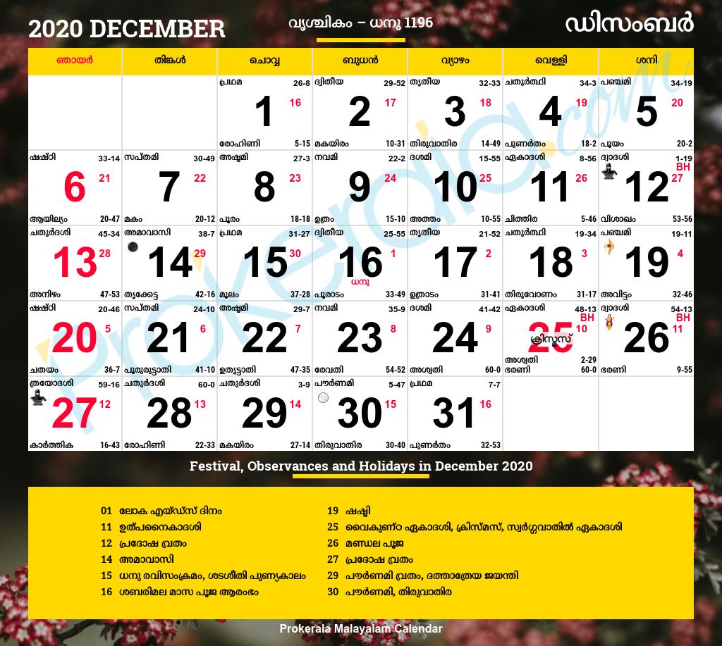 astrology malayalam january 2020