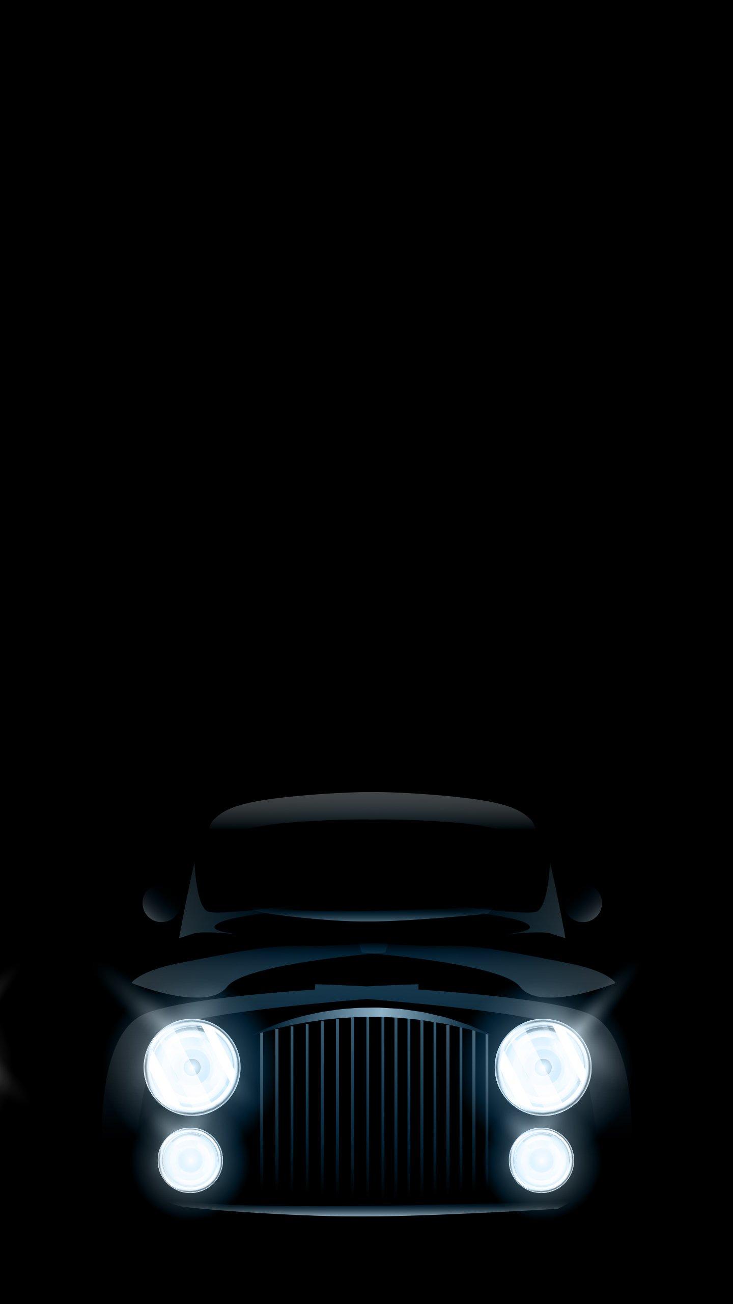 Dark Car Wallpaper