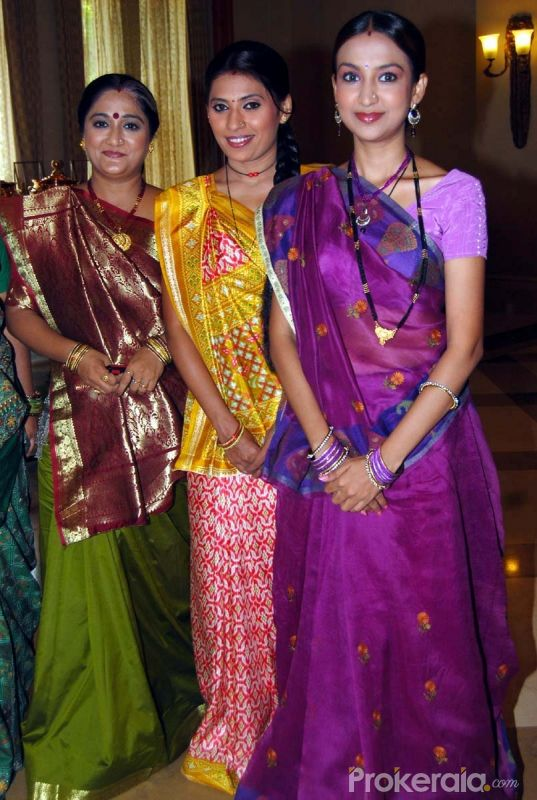"Alpana Butch, Deepmala and Tulika Patel at the Launch New Comedy Serial ""Papad Pol Shahabuddin Rathod Ki Rangeen Duniya"" Held at J W Marriott Juhu, Mumbai on 22nd June,2010"
