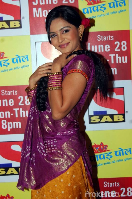 "Ami Trivedi at the Launch New Comedy Serial ""Papad Pol Shahabuddin Rathod Ki Rangeen Duniya"" Held at J W Marriott Juhu, Mumbai on 22nd June,2010"