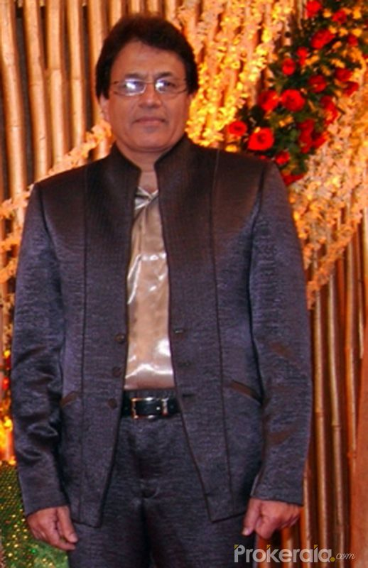 Arun Govil at his son Amal Govil and Divya Wedding Reception Party held at Hotel-Leela Kempinski Andheri on 19.Feb.2010