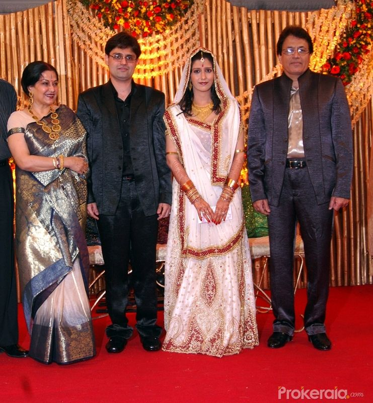 Arun Govil's son Amal Govil and Divya Wedding Reception Party held at Hotel-Leela Kempinski Andheri on 19.Feb.2010
