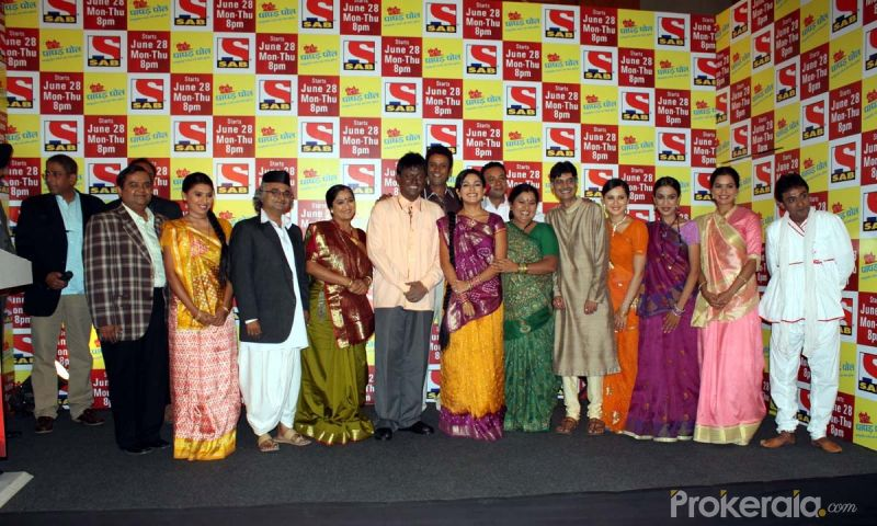 "Cast and Crew of Papad Pol at the Launch New Comedy Serial ""Papad Pol Shahabuddin Rathod Ki Rangeen Duniya"" Held at J W Marriott Juhu, Mumbai on 22nd June,2010"