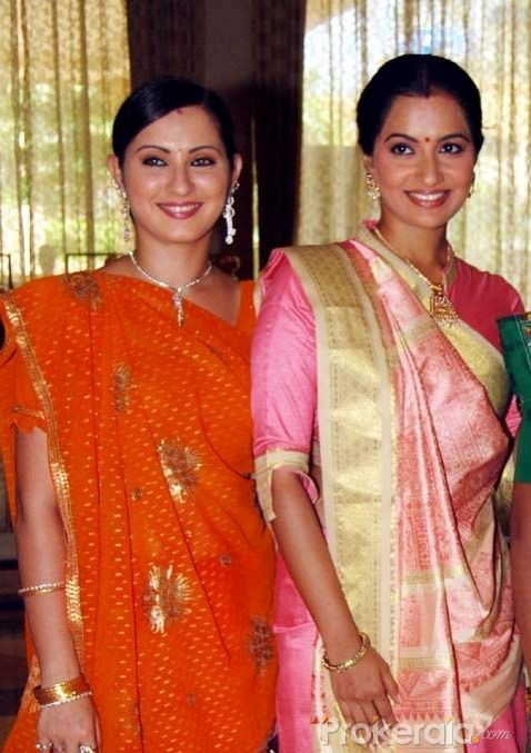 "Laveena Tondon and Dimple Kawa at the Launch New Comedy Serial ""Papad Pol Shahabuddin Rathod Ki Rangeen Duniya"" Held at J W Marriott Juhu, Mumbai on 22nd June,2010"