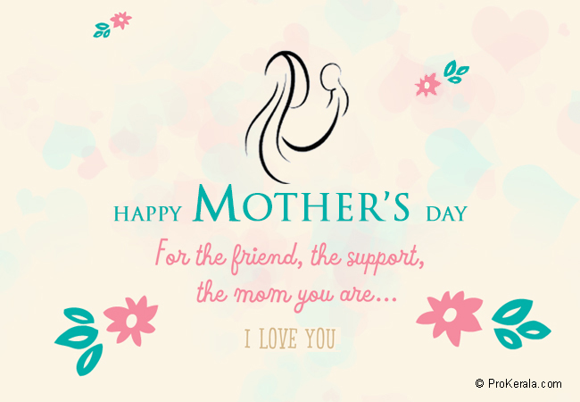 For the friend mothers day card prokerala greeting cards for the friend mothers day card m4hsunfo