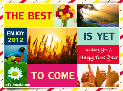 happy new year the best is yet to come a simple beautiful new year