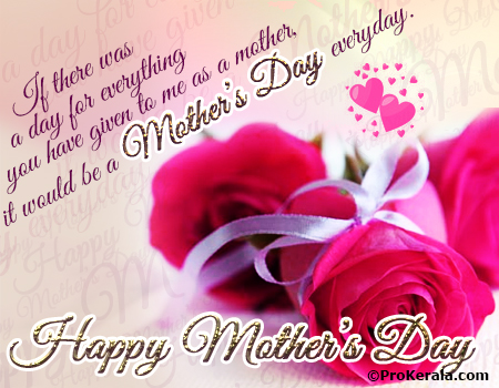 Mothers day everyday mothers day greeting prokerala greeting cards mothers day everyday mothers day greeting m4hsunfo