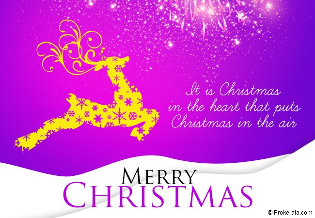 Christmas in Hearts - Greeting Card