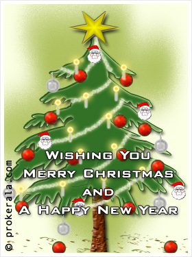 Wishing You Merry Christmas and A Happy New Year