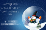2011 Christmas Greeting - Online Christmas E-Greeting Card