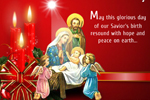 Animated Christmas Greeting Card to Send Christmas Wishes Online