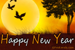 Another fresh New Year to live, love, laugh and give - Happy New Year Card
