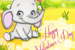 Cute Valentine's Day Card • Happy Valentine's Day