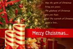 Greetings to Share the Spirit of Christmas - Christmas eGreeting Card